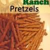 Holiday Munchies: Garlic Ranch Pretzels