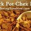 Crock Pot Chex Mix