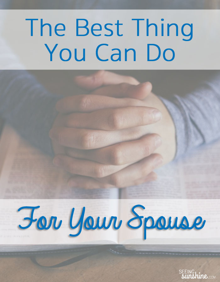 What's the best thing you can do for your spouse? I've got the answer.