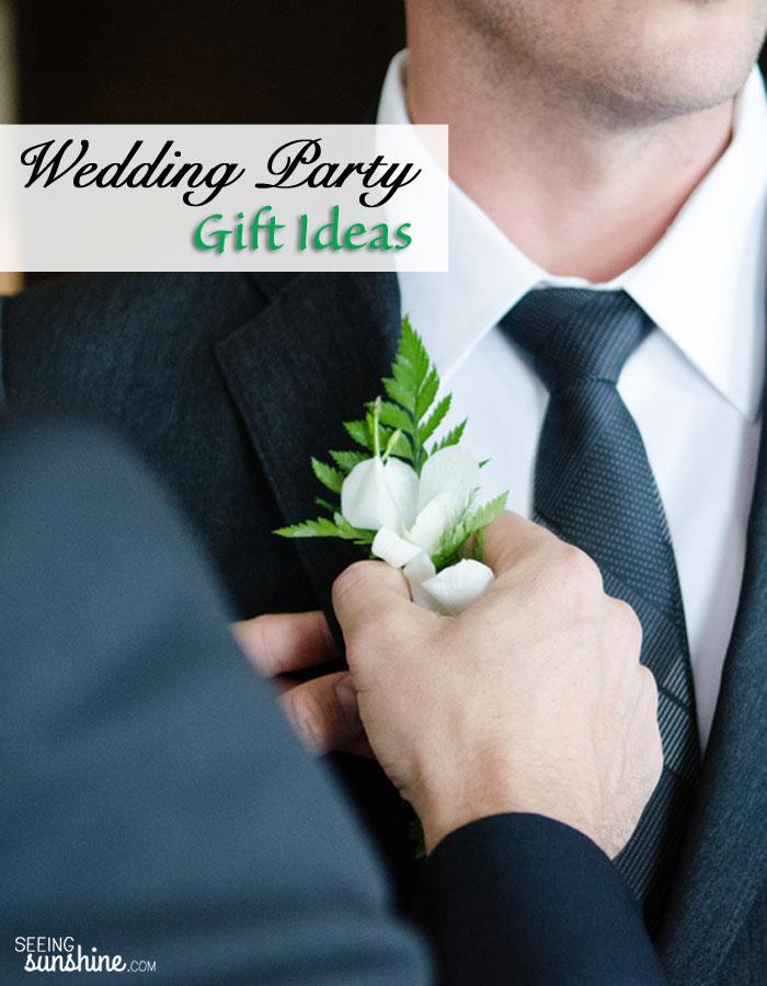 Wedding Party Gift Ideas Seeing Sunshine
