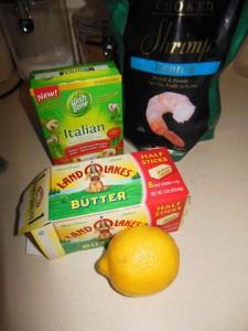 Buttered Italian Shrimp
