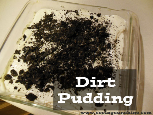 oreo dirt pudding recipe without cream cheese