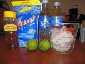 Blueberry Lime Slushy
