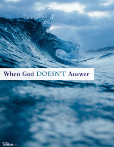 When God Doesn't Answer