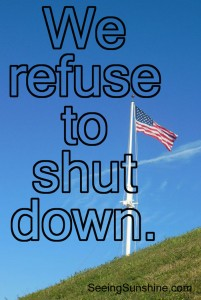 A Challenge: Refuse to Shut Down