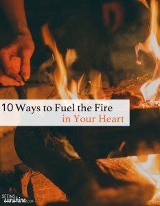 Ways to Fuel the Fire in Your Heart
