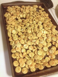 Holiday Munchies: Ranch Oyster Crackers