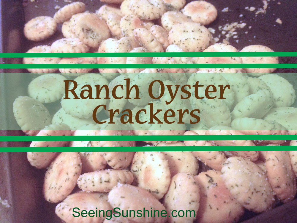 Ranch Oyster Crackers