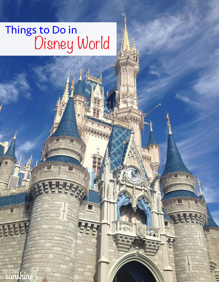 Check out the most fun things to do at Walt Disney World in Orlando, Florida!