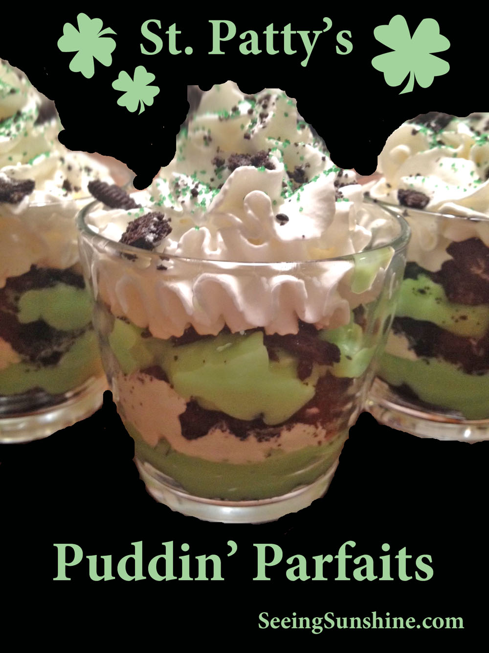 Oreo Pudding Parfaits