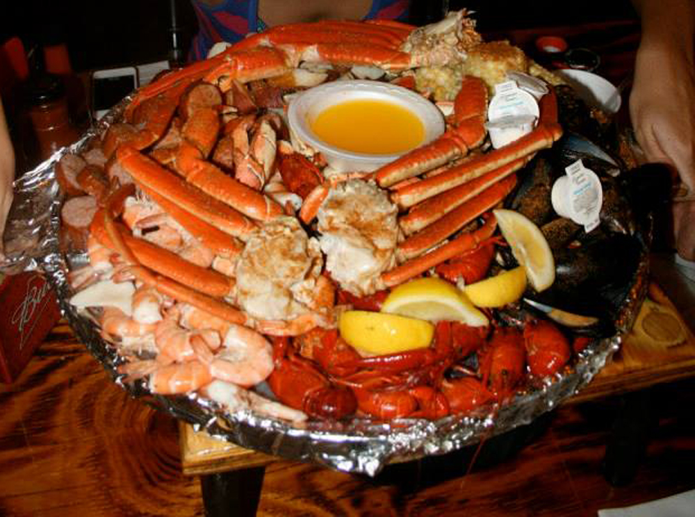 Seafood at Crab Shack
