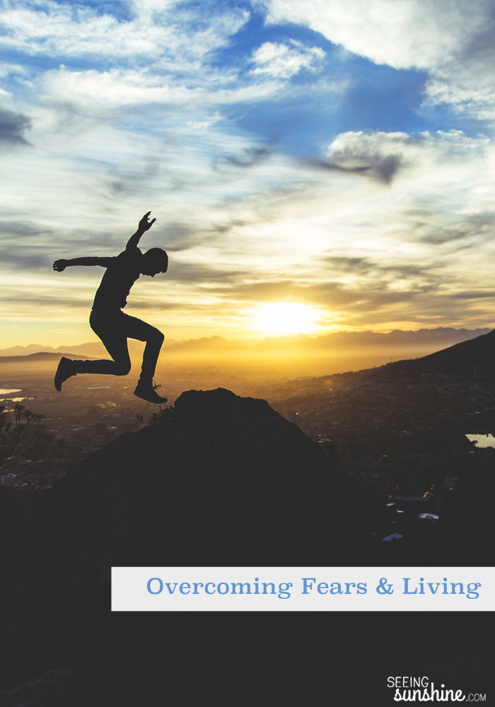 What fears are holding you back? I overcame two fears and lived to tell about it. No, I mean overcoming fears helps us live. Live to the fullest.