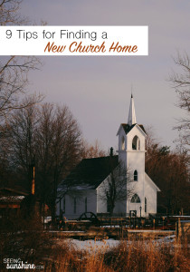 9 Tips for Searching for a New Church Home