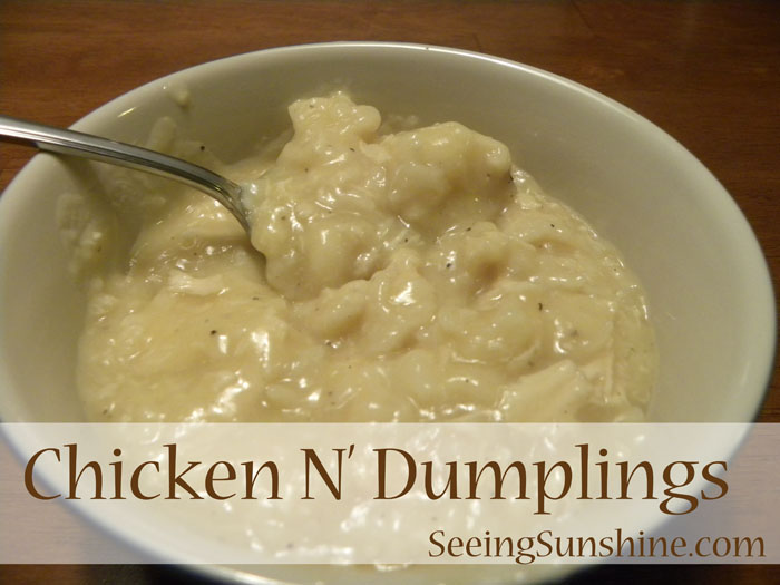 Chicken N' Dumplings