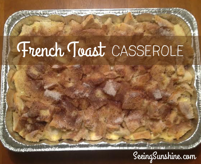 French Toast Casserole 1