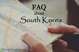 FAQ — South Korea