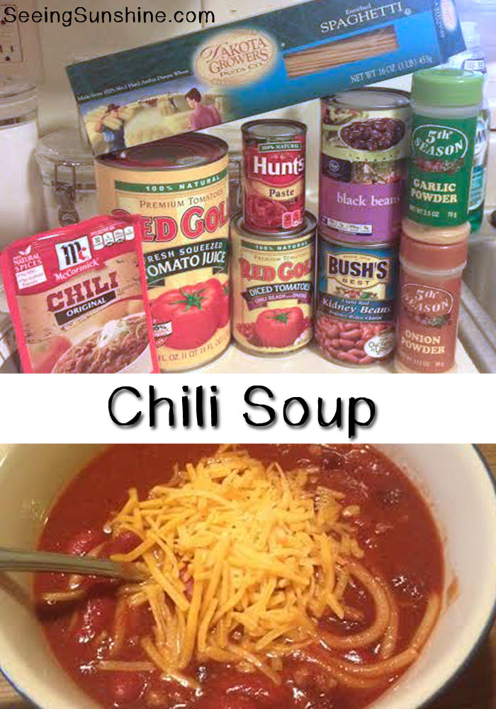 Chili Soup Recipe