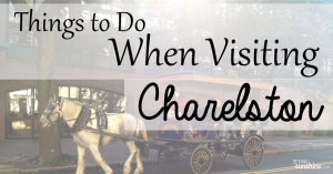Things to Do When Visiting Charleston