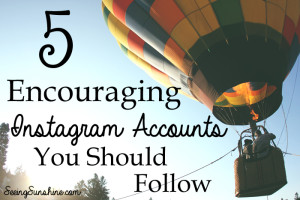 5 Encouraging Instagram Accounts