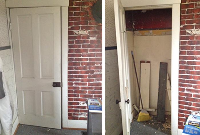 Before- Closet