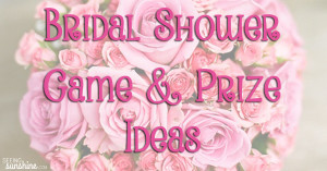 Three Fun Bridal Shower Games