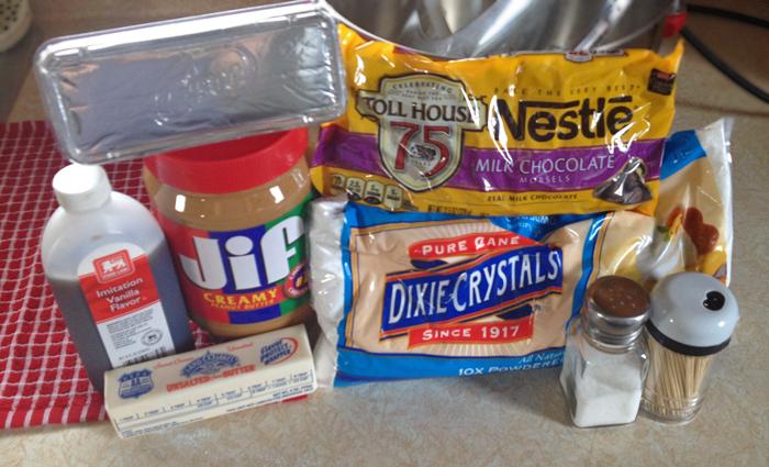Buckeyes Ingredients