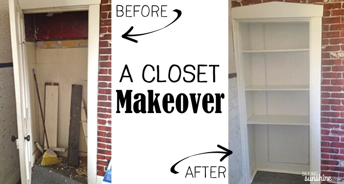 Closet - Before and After