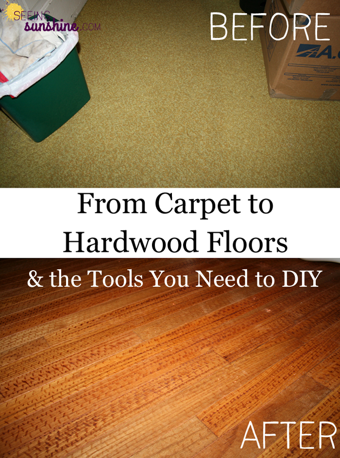 From Carpet To Hardwood Seeing Sunshine