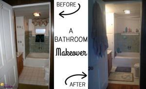 Bathroom Makeover: Goodbye Swans