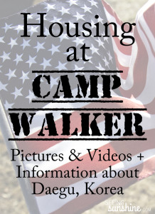 Officers' Housing at Camp Walker