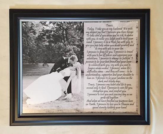 Wedding Vow Art 1