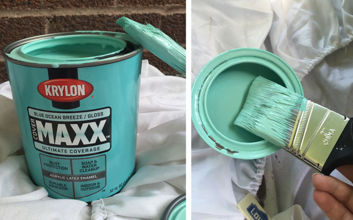 Teal Paint