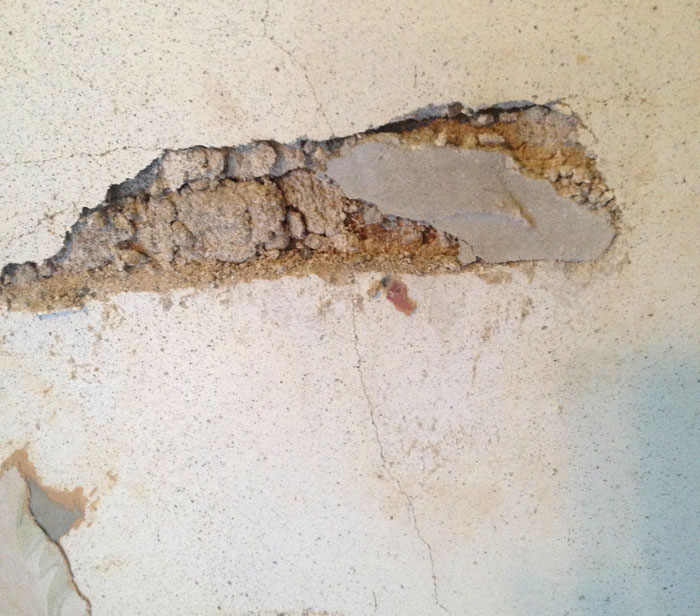 Cracked Plaster