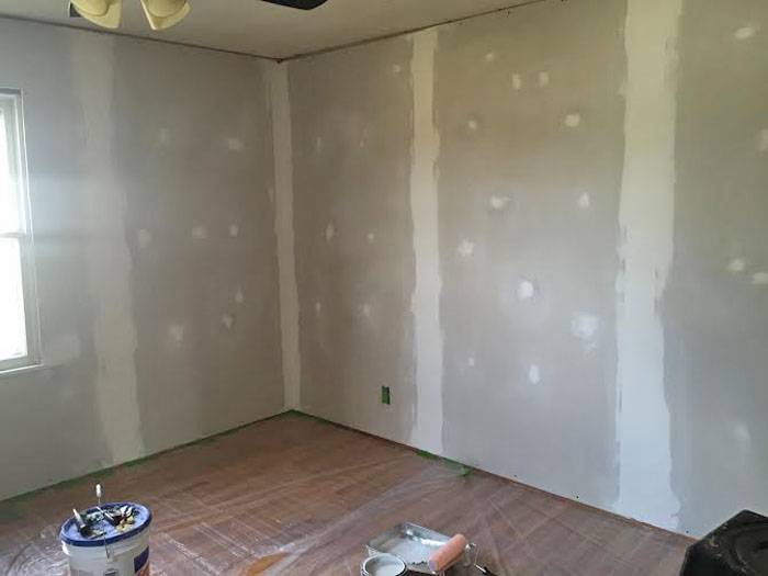 Dry Wall Finished 1