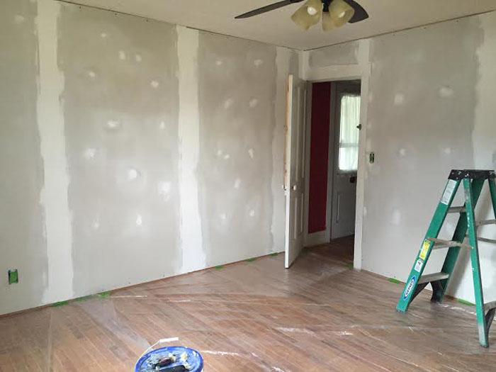 Dry Wall Finished