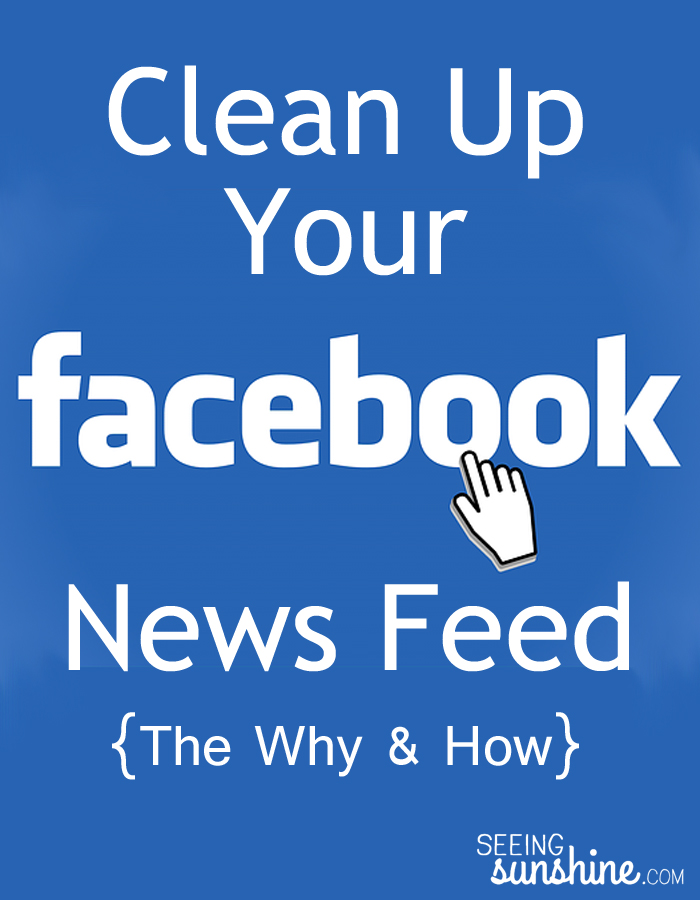 how to clear your facebook