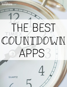 The Best Countdown App