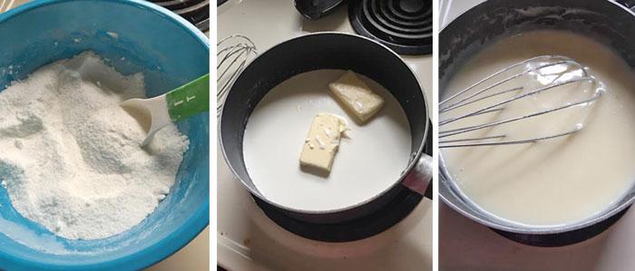 Making Sugar Cream Pie