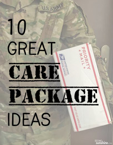 My 10 Favorite Care Package Ideas