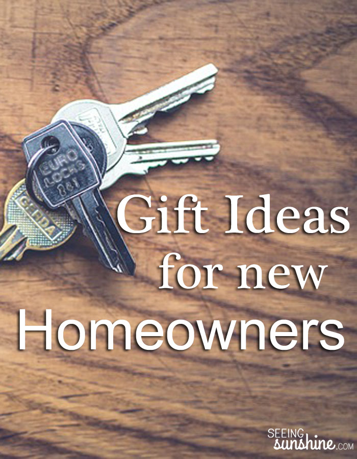 Gift Ideas For New Homeowners Seeing Sunshine