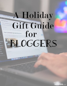 A Holiday Gift Guide for Bloggers