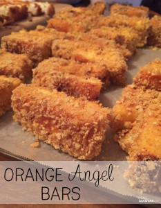 Orange Angel Bars