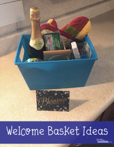Welcome Basket for Renters