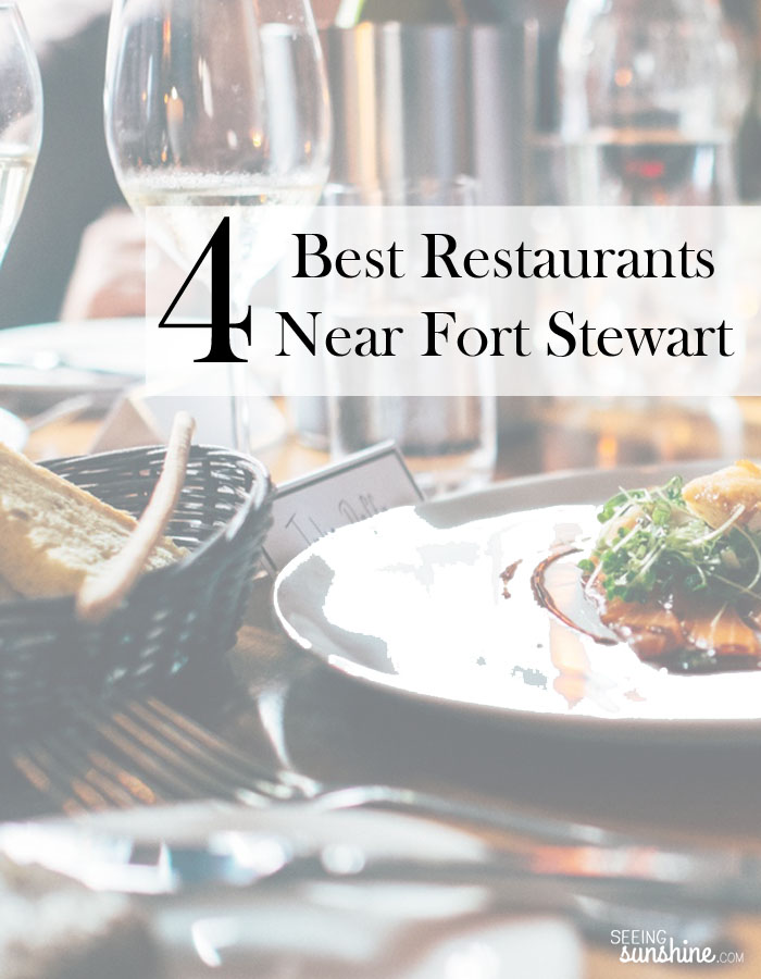 Try these four best restaurants near Fort Stewart!
