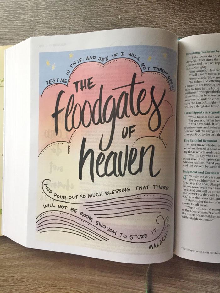 Bible Art Journaling With The Beautiful Word Bible