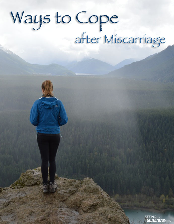 Read these 12 ways to cope after experiencing a miscarriage.