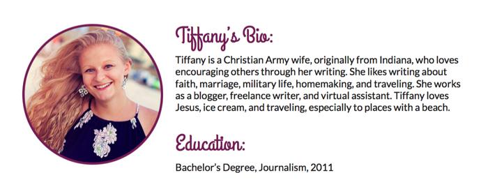 Tiffany's Bio