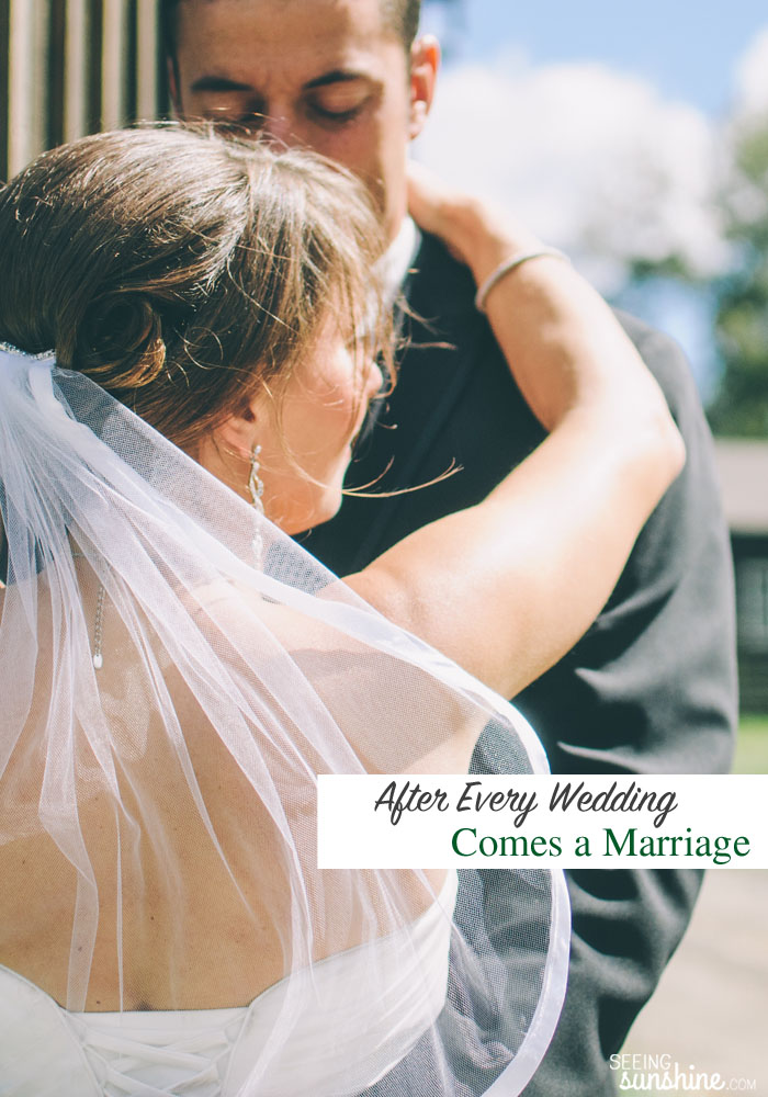 After the wedding, marriage happens. And marriage gets messy. Check out these tips for newlyweds!