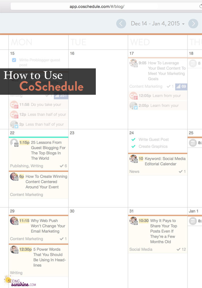 Learn how to use CoSchedule and what its best features are in this post!