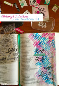 Blessings or Lessons? June Devotional Kit